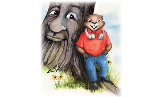 Courageous Gilbert the Groundhog