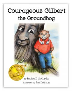Gilbert BOOK COVER with mom's choice awards seal